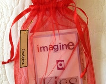 IMAGINE... set of 20 playful inspired card deck, just for fun. Creative quotes for inspiration and your imagination. Made to make you smile!