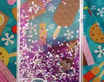 Note 2 glitter case