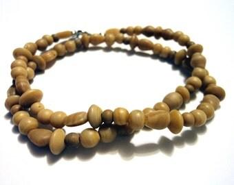 Handmade, Hippie, Boho, Gypsy, Stone, Beaded, Necklace