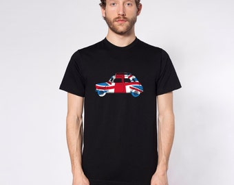 KillerBeeMoto: Limited Release God Save The Queen British Engineered Vintage Compact Car Short & Long Sleeve Shirt