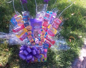 Willy Wonka Candy Centerpiece /gift