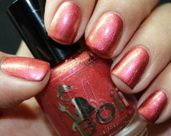 nail polish, red nail polish,  lady plumrose
