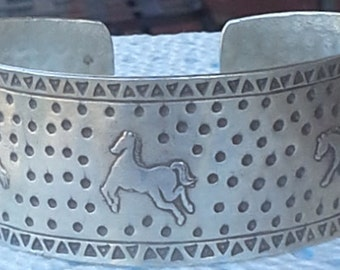 our design handmade silver cuff bracelet
