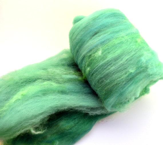 Fiber art batt fiber spinning batt felting batt hand dyed for Fiber batt