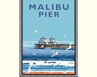 Landmark CA | Malibu Pier Day by Mark Herman