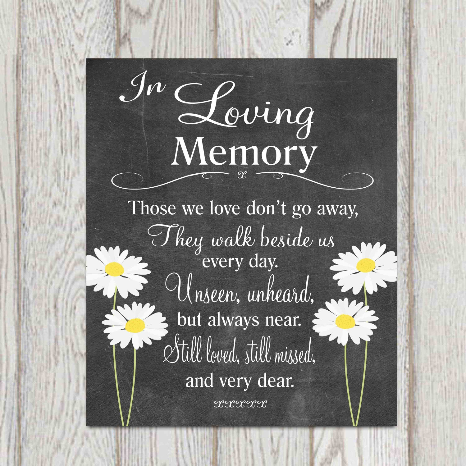 Quotes For Memory: Memorial Table In Loving Memory Printable Wedding Memorial