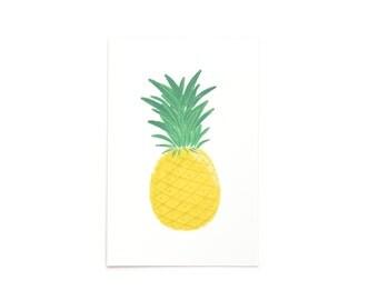 Pineapple Postcards