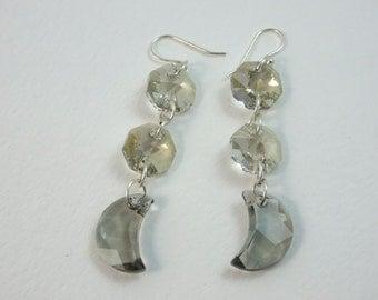 Swarovski crystal earrings  - SJC10017 -