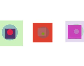 Some Squares and Some Circles