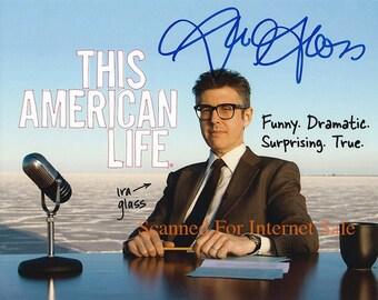 Ira Glass (Signed Press Photo) This American Life ~ NPR,