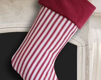 Red Christmas Stocking Red Stocking Red Christmas Red