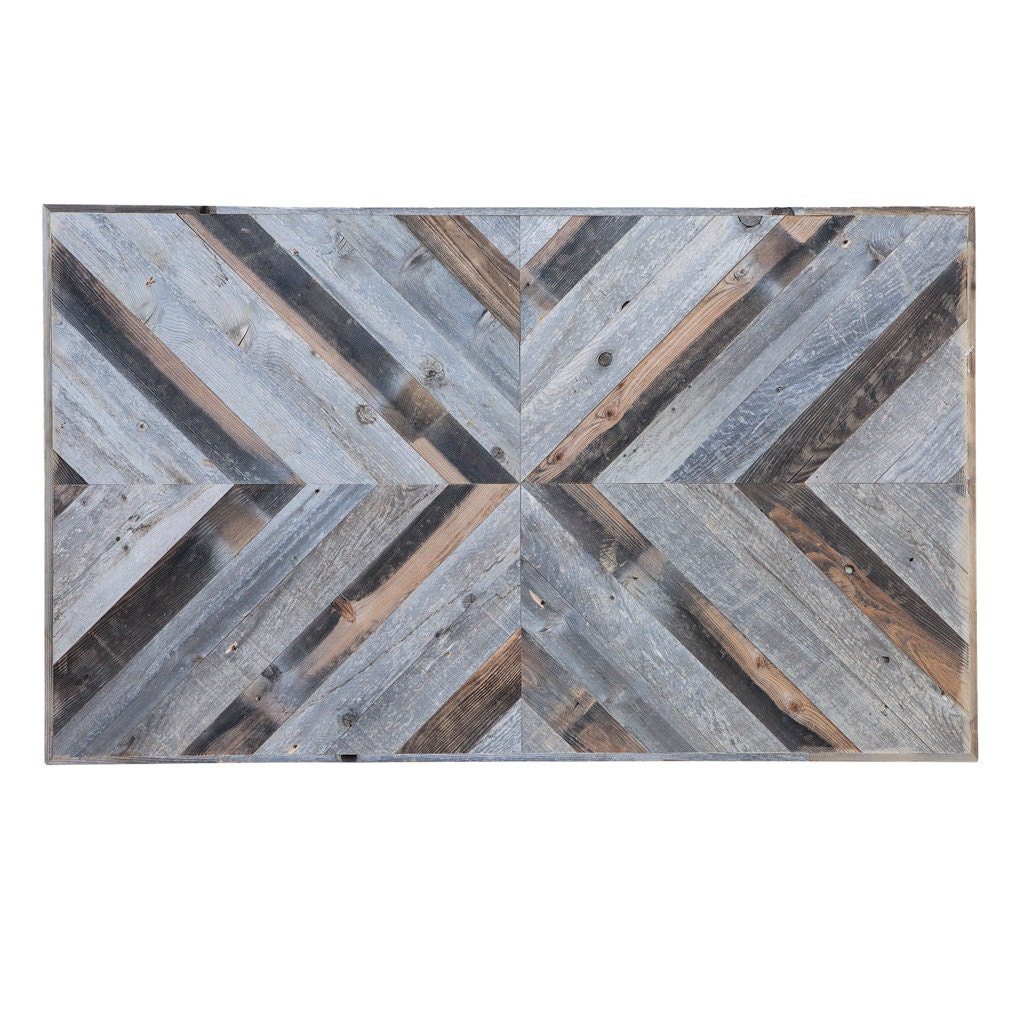 Reclaimed wood wall art panel by waltonwoodcraft on etsy - Wooden panel art ...