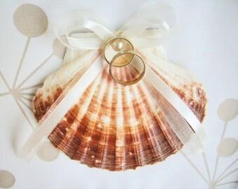 Ring bearer/  Ring bearer  'Shell'. Seaside Wedding. Beach wedding