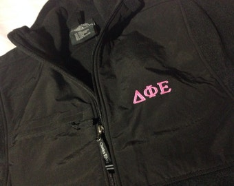 Delta Phi Epsilon Evolux Jacket in Sizes Extra Small, Small and Medium