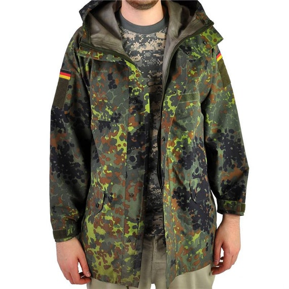 German Army Goretex waterproof Parka military coat jacket