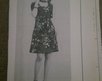 Pattern 7347 dress plus sized