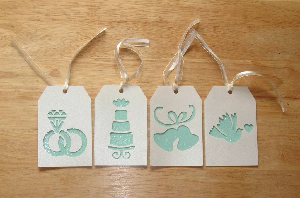 Homemade Wedding Shower Gifts: Wedding Gift Tags Bridal Shower Gift Tags Bridesmaid Gift