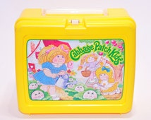 Vintage 1983 Cabbage Patch Kids Lunchbox with Thermos