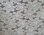 Heavy Lace fabric wedding lace fabric Stretch lace, Floral lace, Fabric lace, stretch lace fabric by the yard wholesale lace fabric HDF52611