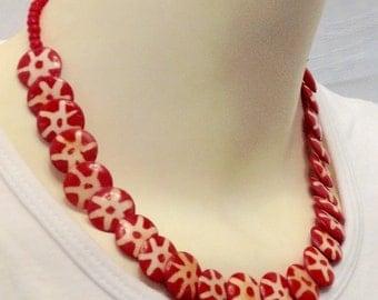 Necklace made of Camel Bone