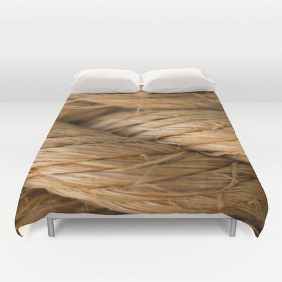 Nautical Bedding King, Duvet Cover Queen, Unique Bedding Full, Beach Bedroom Decor, Beach Cottage Decor, Tropical Print, Beachy Decor