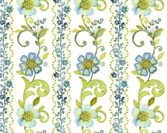 Marianna - 5MAR2, Blue - In The Beginning Fabric Yardage