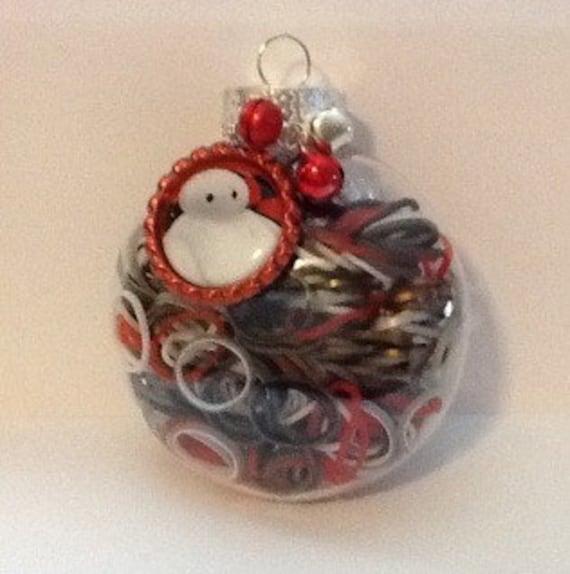 Items Similar To Baymax Inspired Rainbow Loom Ornament
