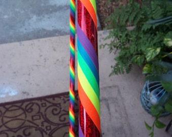 Rainbow Hula Hoop (Workout or Beginner)