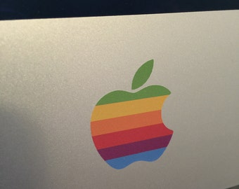 2 x Apple Retro iMac Decal