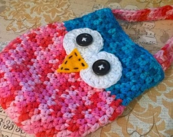 Little girls Owl purse