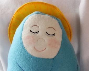 Baby Jesus Handmade Soft Saint Dolls,  Soft and Perfect for little ones to Snuggle with.