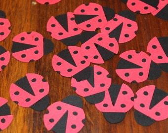 Ladybug Confetti-Set of 50