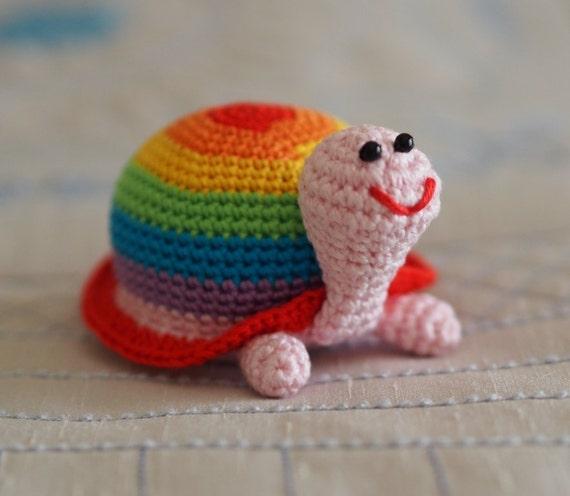 Amigurumi Crochet Toys : amigurumi turtle toy children toy crochet toy bright