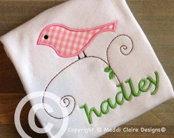 Bird on a Vine Shirt