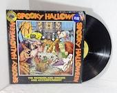 Spooky Halloween vintage vinyl record LP album OOP || 70's Wonderland Singers || Children Kids Holiday Halloween Party