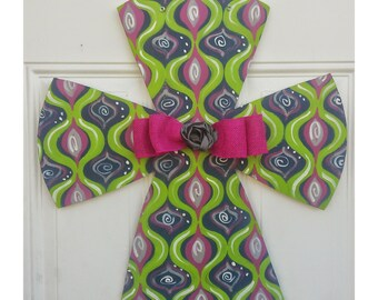 Spring Cross Door Hanger