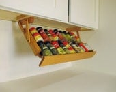 Ultimate Kitchen Storage Under Cabinet Spice Rack Organizer Save Big Use Code: BUY2SAVE10