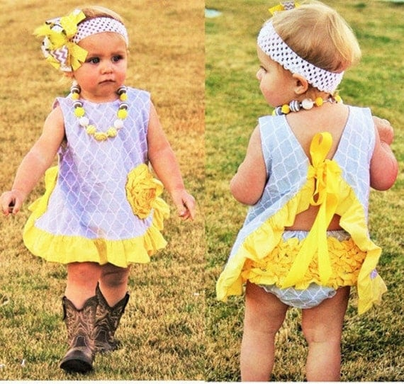swing top yellow and grey lattive boutique outfit cheap baby girl toddler girl summer. Black Bedroom Furniture Sets. Home Design Ideas