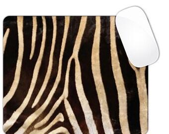 Zebra Stripes Animal Print Mouse Pad