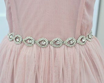 Wedding Belt, sash, TIFFANY SASH, Bridal sash, Wedding belt