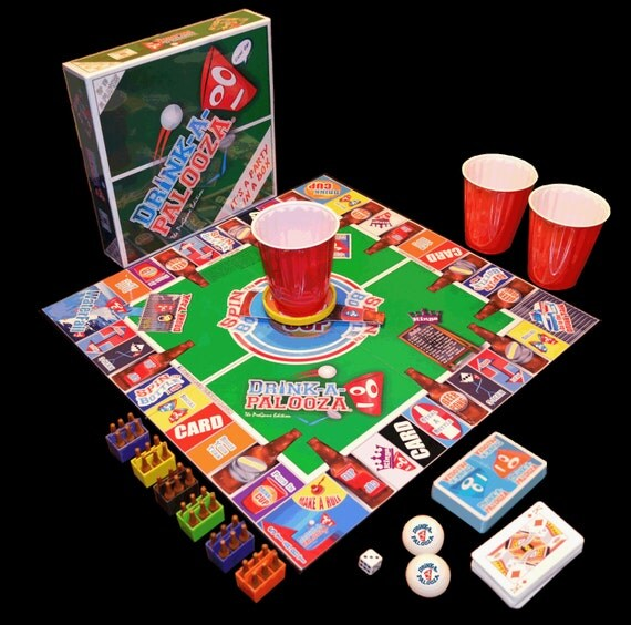 Drink A Palooza: Items Similar To Drink-A-Palooza Drinking Game With Beer