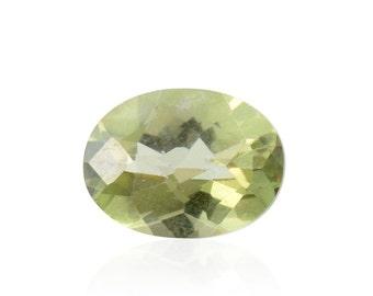 Mystic Green Topaz Loose Gemstone Oval Cut 1A Quality 8x6mm TGW 1.45 cts.