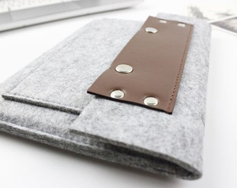 "Felt Macbook Pro 13.3"" sleeve, Macbook 13 sleeve, Macbook 13 case, Macbook Pro Case, Macbook Pro Sleeve, Laptop sleeve, Laptop Case SJ345"