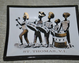 Souvenir Tray from St. Thomas V.I.