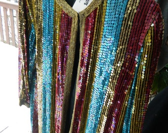 New old stock- Beaded and sequins Jacket