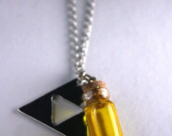 Legend of Zelda bottle potion necklace