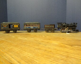 American Flyer Baltimore and Ohio wind up toy train