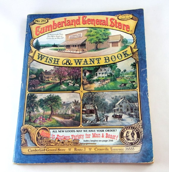 Cumberland General Store Wish & Want Book #282, Cumberland General Store