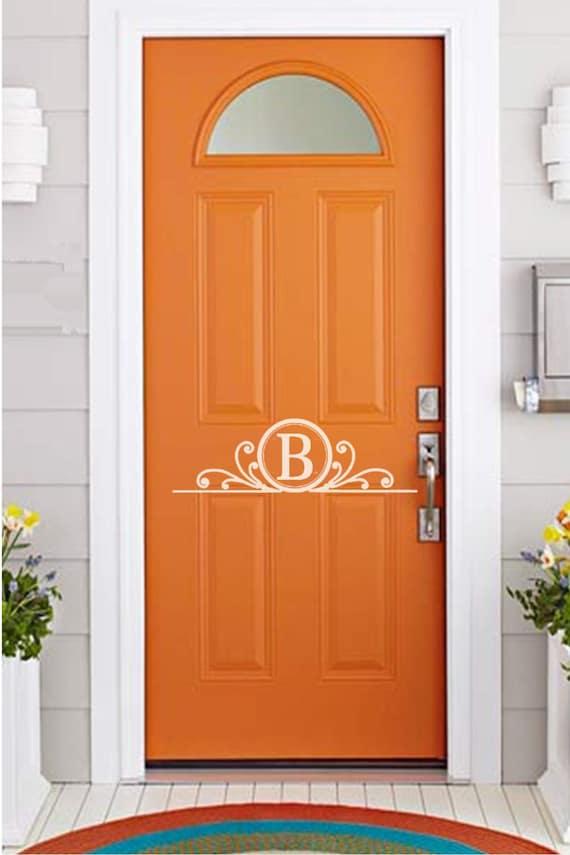 ... Door Decal. Greeting, housewarming gift, wedding gift, Christmas gift