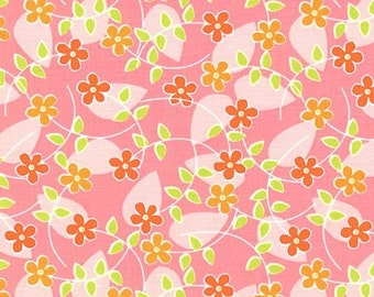 Floating Blossoms in Pink by Tamara Kate for Michael Miller Fabrics 2091